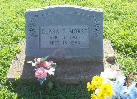 MORSE, CLARA E. - Benton County, Arkansas | CLARA E. MORSE - Arkansas Gravestone Photos