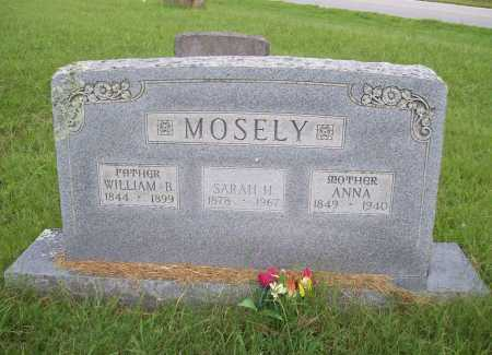 MOSELY, SARAH H. - Benton County, Arkansas | SARAH H. MOSELY - Arkansas Gravestone Photos