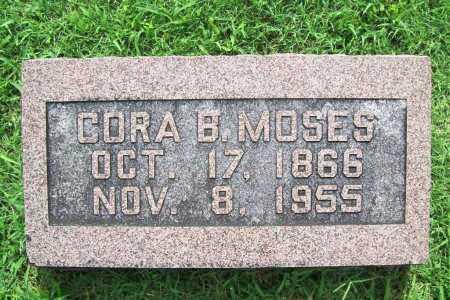 MOSES, CORA B. - Benton County, Arkansas | CORA B. MOSES - Arkansas Gravestone Photos
