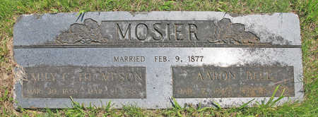 MOSIER, AARON BELL - Benton County, Arkansas | AARON BELL MOSIER - Arkansas Gravestone Photos