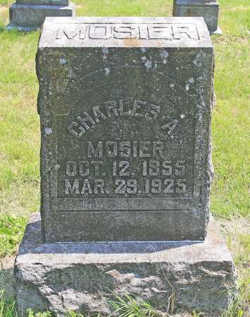 MOSIER, CHARLES ALBERT - Benton County, Arkansas | CHARLES ALBERT MOSIER - Arkansas Gravestone Photos