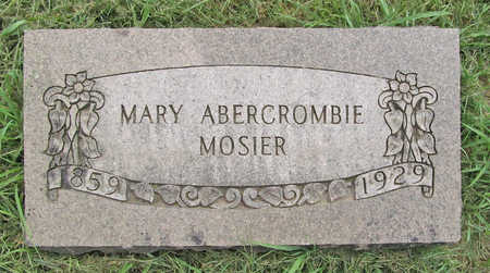 MOSIER, MARY - Benton County, Arkansas | MARY MOSIER - Arkansas Gravestone Photos