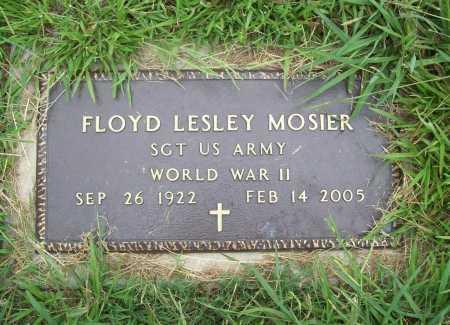 MOSIER (VETERAN WWII), FLOYD LESLEY - Benton County, Arkansas | FLOYD LESLEY MOSIER (VETERAN WWII) - Arkansas Gravestone Photos