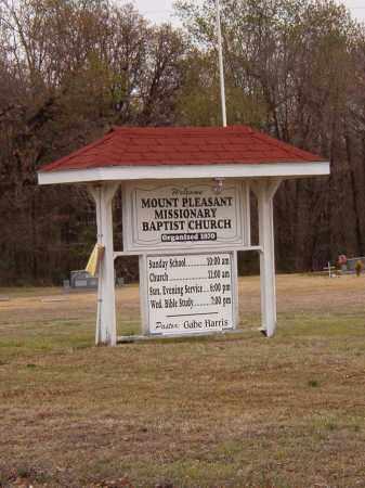 *MOUNT PLEASANT CHURCH SIGN,  - Benton County, Arkansas    *MOUNT PLEASANT CHURCH SIGN - Arkansas Gravestone Photos