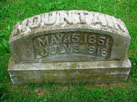MOUNTAIN, JOHN W. - Benton County, Arkansas | JOHN W. MOUNTAIN - Arkansas Gravestone Photos