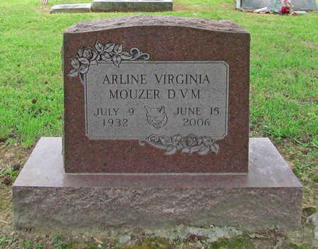 MOUZER, ARLINE VIRGINIA - Benton County, Arkansas | ARLINE VIRGINIA MOUZER - Arkansas Gravestone Photos
