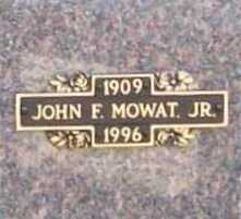 MOWAT, JOHN F. JR. - Benton County, Arkansas | JOHN F. JR. MOWAT - Arkansas Gravestone Photos