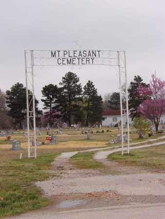 *MT PLEASANT ENTRANCE,  - Benton County, Arkansas |  *MT PLEASANT ENTRANCE - Arkansas Gravestone Photos