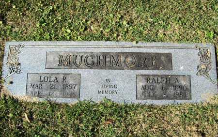 MUCHMORE, RALPH A. - Benton County, Arkansas | RALPH A. MUCHMORE - Arkansas Gravestone Photos
