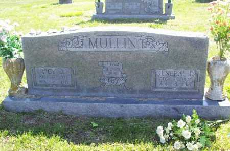 MULLIN, GENERAL D. - Benton County, Arkansas | GENERAL D. MULLIN - Arkansas Gravestone Photos