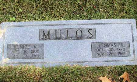 MULOS, THOMAS A. - Benton County, Arkansas | THOMAS A. MULOS - Arkansas Gravestone Photos