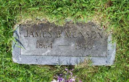 MUNSON, JAMES B. - Benton County, Arkansas | JAMES B. MUNSON - Arkansas Gravestone Photos