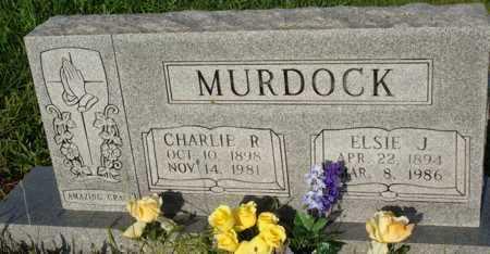 MURDOCK, CHARLIE R. - Benton County, Arkansas | CHARLIE R. MURDOCK - Arkansas Gravestone Photos
