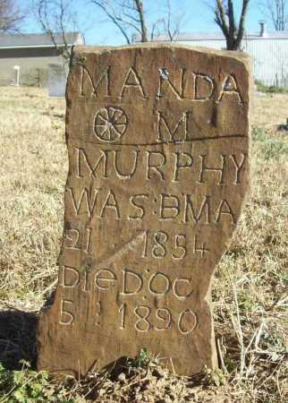 MURPHY, MANDA M. - Benton County, Arkansas | MANDA M. MURPHY - Arkansas Gravestone Photos