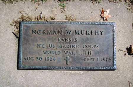 MURPHY (VETERAN WWII), NORMAN W - Benton County, Arkansas | NORMAN W MURPHY (VETERAN WWII) - Arkansas Gravestone Photos