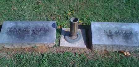BROWN MUSTEEN, JENNIE LEE - Benton County, Arkansas | JENNIE LEE BROWN MUSTEEN - Arkansas Gravestone Photos
