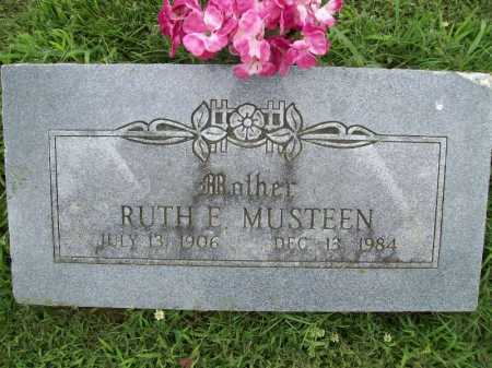 MUSTEEN, RUTH E. - Benton County, Arkansas | RUTH E. MUSTEEN - Arkansas Gravestone Photos