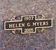 GROVE MYERS, HELEN IDA - Benton County, Arkansas | HELEN IDA GROVE MYERS - Arkansas Gravestone Photos
