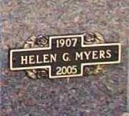 MYERS, HELEN IDA - Benton County, Arkansas | HELEN IDA MYERS - Arkansas Gravestone Photos