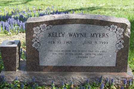 MYERS, KELLY WAYNE - Benton County, Arkansas | KELLY WAYNE MYERS - Arkansas Gravestone Photos
