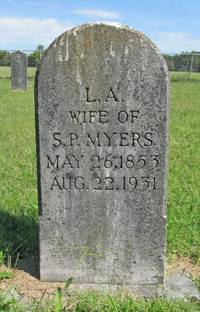 MYERS, LUCY ANN - Benton County, Arkansas | LUCY ANN MYERS - Arkansas Gravestone Photos