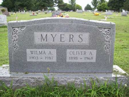 MYERS, OLIVER A. - Benton County, Arkansas | OLIVER A. MYERS - Arkansas Gravestone Photos