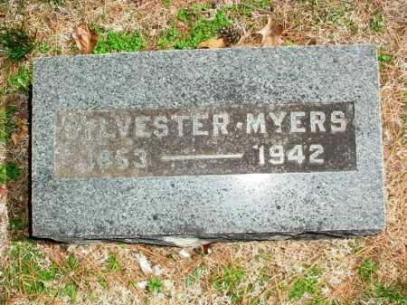 MYERS, SYLVESTER - Benton County, Arkansas   SYLVESTER MYERS - Arkansas Gravestone Photos
