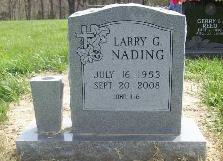 NADING, LARRY GENE - Benton County, Arkansas | LARRY GENE NADING - Arkansas Gravestone Photos
