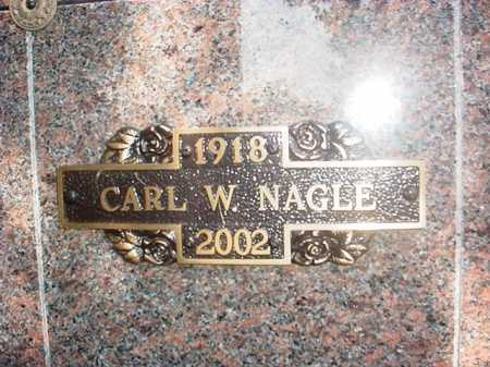NAGLE, CARL W. - Benton County, Arkansas | CARL W. NAGLE - Arkansas Gravestone Photos