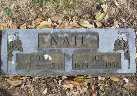 NAIL, CORA - Benton County, Arkansas | CORA NAIL - Arkansas Gravestone Photos