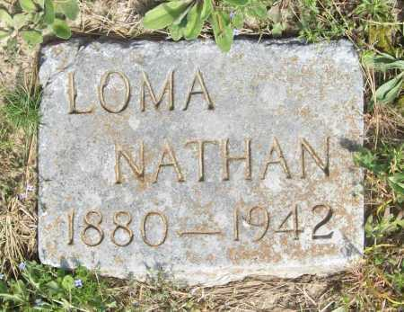 NATHAN, LOMA - Benton County, Arkansas | LOMA NATHAN - Arkansas Gravestone Photos