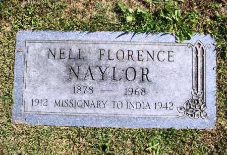NAYLOR, NELL FLORENCE - Benton County, Arkansas | NELL FLORENCE NAYLOR - Arkansas Gravestone Photos