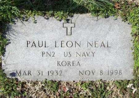 NEAL (VETERAN KOR), PAUL LEON - Benton County, Arkansas | PAUL LEON NEAL (VETERAN KOR) - Arkansas Gravestone Photos
