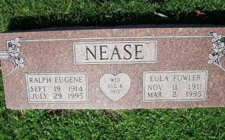 FOWLER NEASE, EULA - Benton County, Arkansas | EULA FOWLER NEASE - Arkansas Gravestone Photos