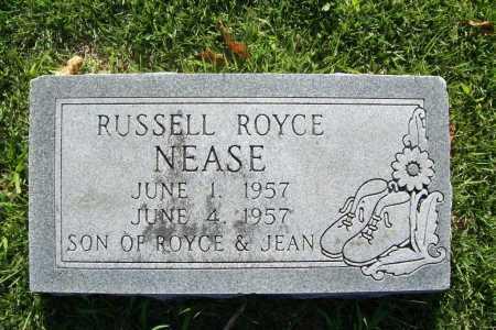 NEASE, RUSSELL ROYCE - Benton County, Arkansas | RUSSELL ROYCE NEASE - Arkansas Gravestone Photos