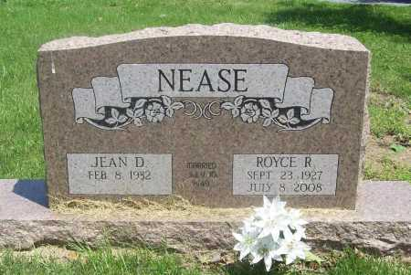 NEASE (VETERAN), ROYCE R - Benton County, Arkansas | ROYCE R NEASE (VETERAN) - Arkansas Gravestone Photos