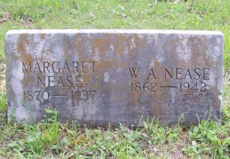 NEASE, W. A. - Benton County, Arkansas | W. A. NEASE - Arkansas Gravestone Photos