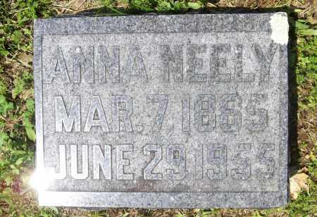 NEELY, ANNA - Benton County, Arkansas | ANNA NEELY - Arkansas Gravestone Photos