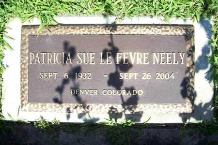 NEELY, PATRICIA SUE - Benton County, Arkansas | PATRICIA SUE NEELY - Arkansas Gravestone Photos