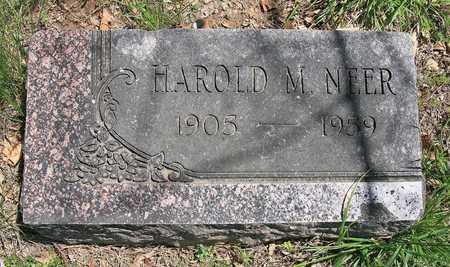 NEER, HAROLD M - Benton County, Arkansas | HAROLD M NEER - Arkansas Gravestone Photos