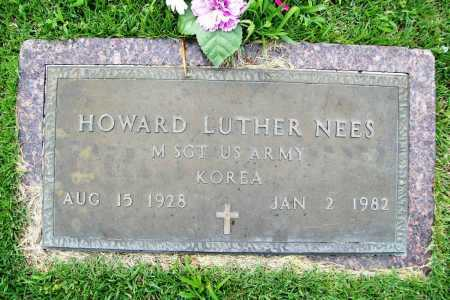 NEES (VETERAN KOR), HOWARD LUTHER - Benton County, Arkansas | HOWARD LUTHER NEES (VETERAN KOR) - Arkansas Gravestone Photos