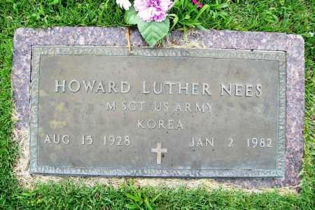 NEES (VETERAN KOR), HOWARD LUTHER - Benton County, Arkansas | HOWARD LUTHER NEES (VETERAN KOR) - Arkansas Gravestone Photos
