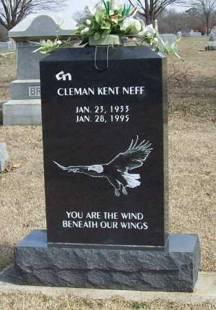 NEFF (FRONT) (VETERAN KOR), CLEMAN KENT - Benton County, Arkansas | CLEMAN KENT NEFF (FRONT) (VETERAN KOR) - Arkansas Gravestone Photos