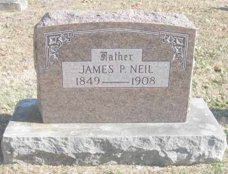 NEIL, JAMES P. - Benton County, Arkansas | JAMES P. NEIL - Arkansas Gravestone Photos