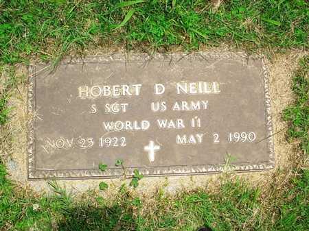 NEILL (VETERAN WWII), HOBERT D. - Benton County, Arkansas | HOBERT D. NEILL (VETERAN WWII) - Arkansas Gravestone Photos