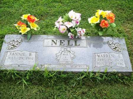 NELL, WARREN E. - Benton County, Arkansas | WARREN E. NELL - Arkansas Gravestone Photos