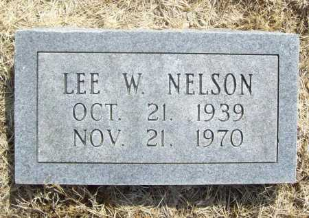 NELSON, LEE W. - Benton County, Arkansas | LEE W. NELSON - Arkansas Gravestone Photos