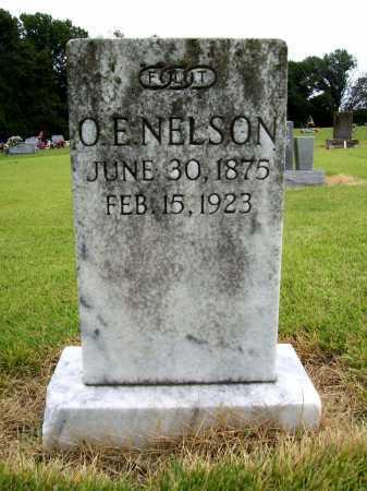 NELSON, O. E. - Benton County, Arkansas | O. E. NELSON - Arkansas Gravestone Photos