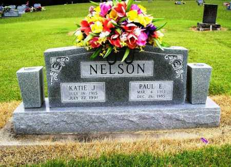 NELSON, PAUL E. - Benton County, Arkansas | PAUL E. NELSON - Arkansas Gravestone Photos
