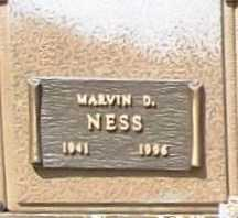 NESS, MARVIN D. - Benton County, Arkansas | MARVIN D. NESS - Arkansas Gravestone Photos